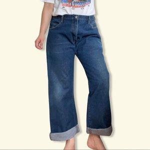 Levi's vintage 517 jeans tag 38 fit 12 boot (j9)